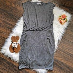 Athleta Dresses - Athleta black & white striped dress